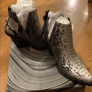 Jeffrey Campbell Snake Booties NWT